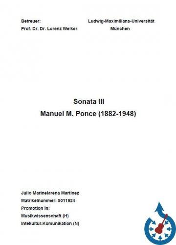 Screenshot for Analisi della Sonata III di Manuel Maria Ponce