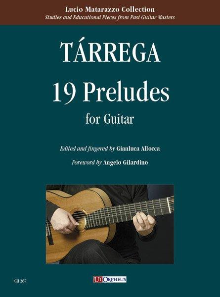 19 Preludi per Chitarra, Francisco Tárrega