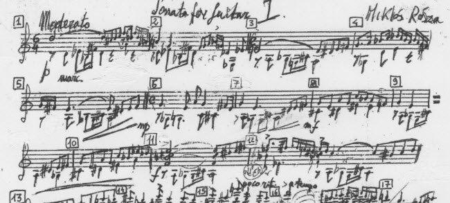 Miklós Rózsa - Sonata Op.42