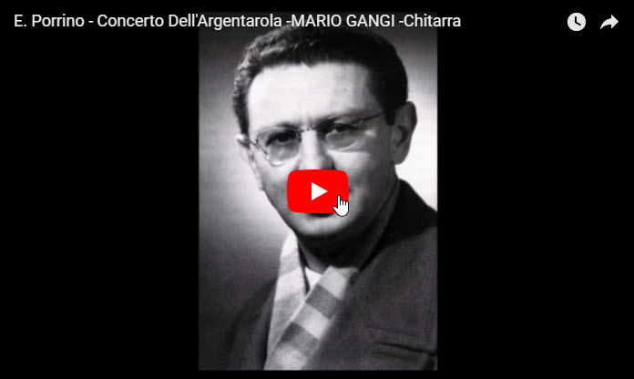 Concerto dell'Argentarola - Ennio Porrino, Mario Gangi