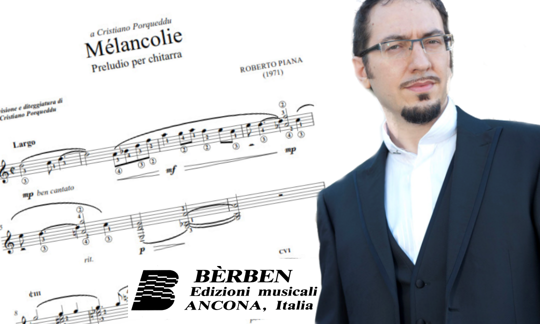 Bèrben pubblicherà Mélancolie di Roberto Piana