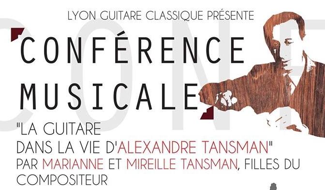 La guitare dans la vie d'Alexandre Tansman