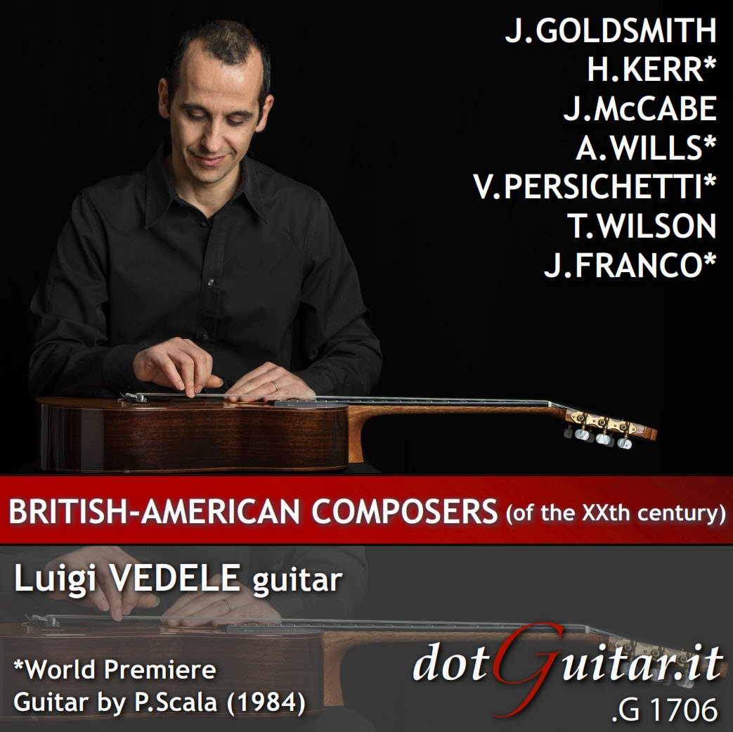 British-American Composers (of the 20th century), Luigi Vedele