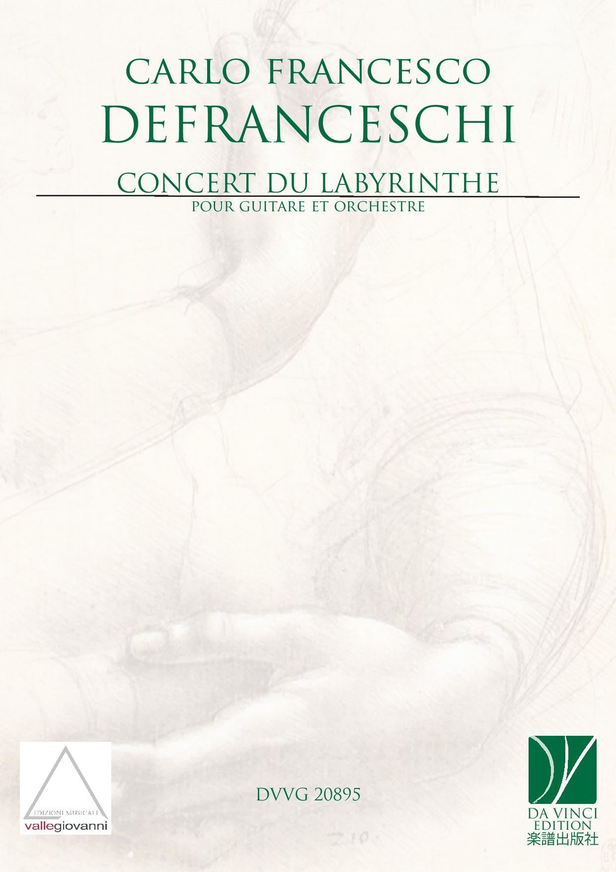 Carlo Francesco Defranceschi, Concert du labyrinthe pour guitare et orchestre