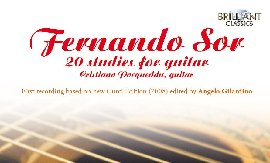 Fernando Sor: 20 Studi per chitarra