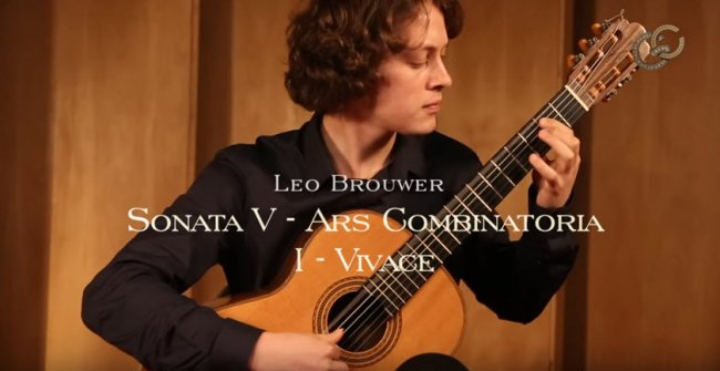 Leo Brouwer Sonata V - Ars Combinatoria - Andrey Lebedev.jpg