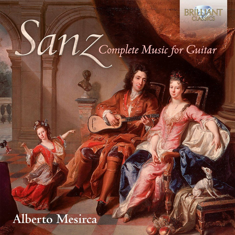 Sanz Complete Music for Guitar, Alberto Mesirca