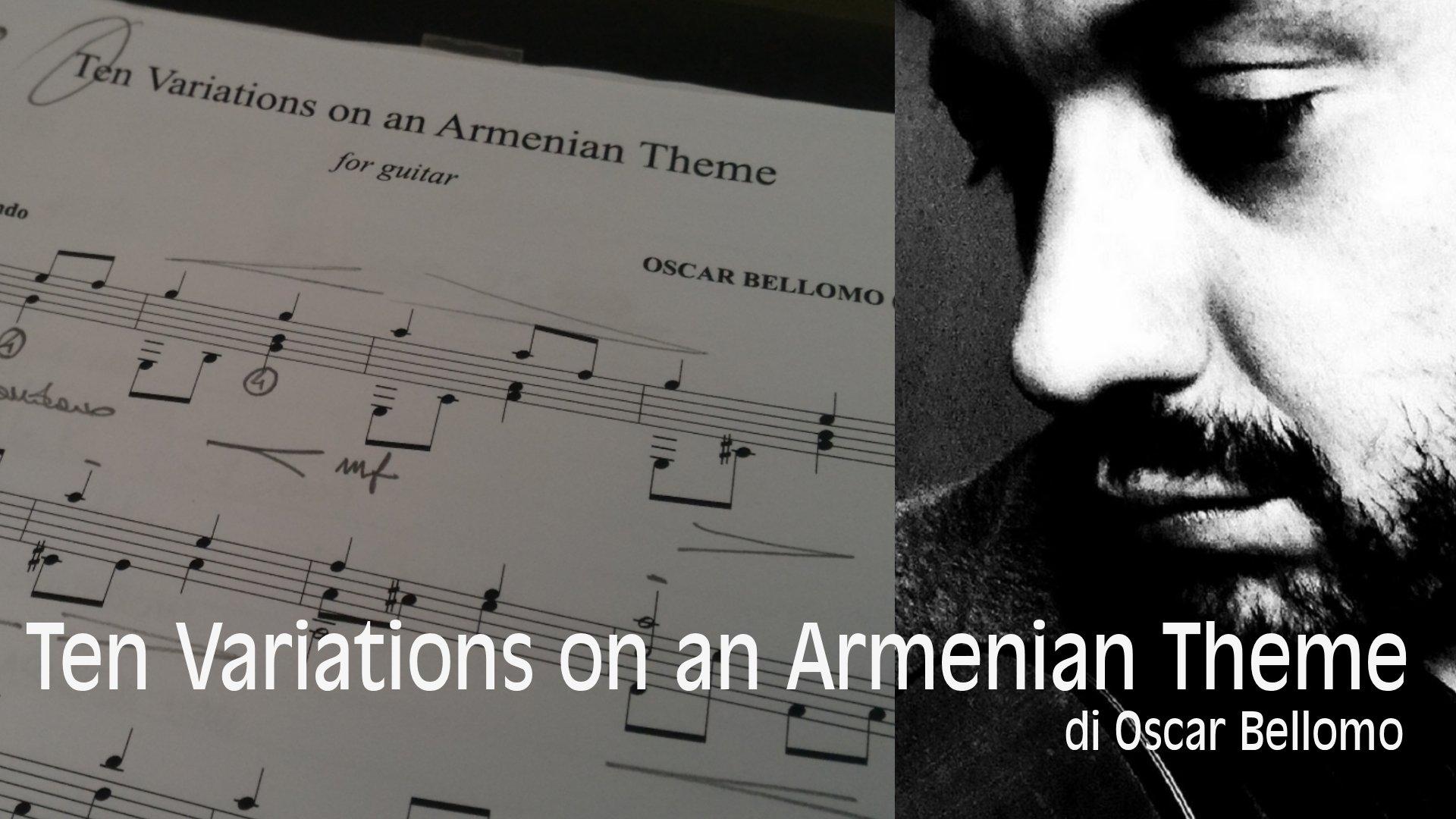 Variazioni su un tema armeno di Oscar Bellomo