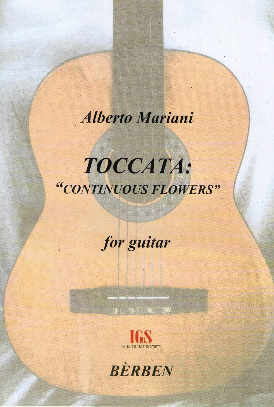 Alberto Mariani, Toccata: Continuous Flowers