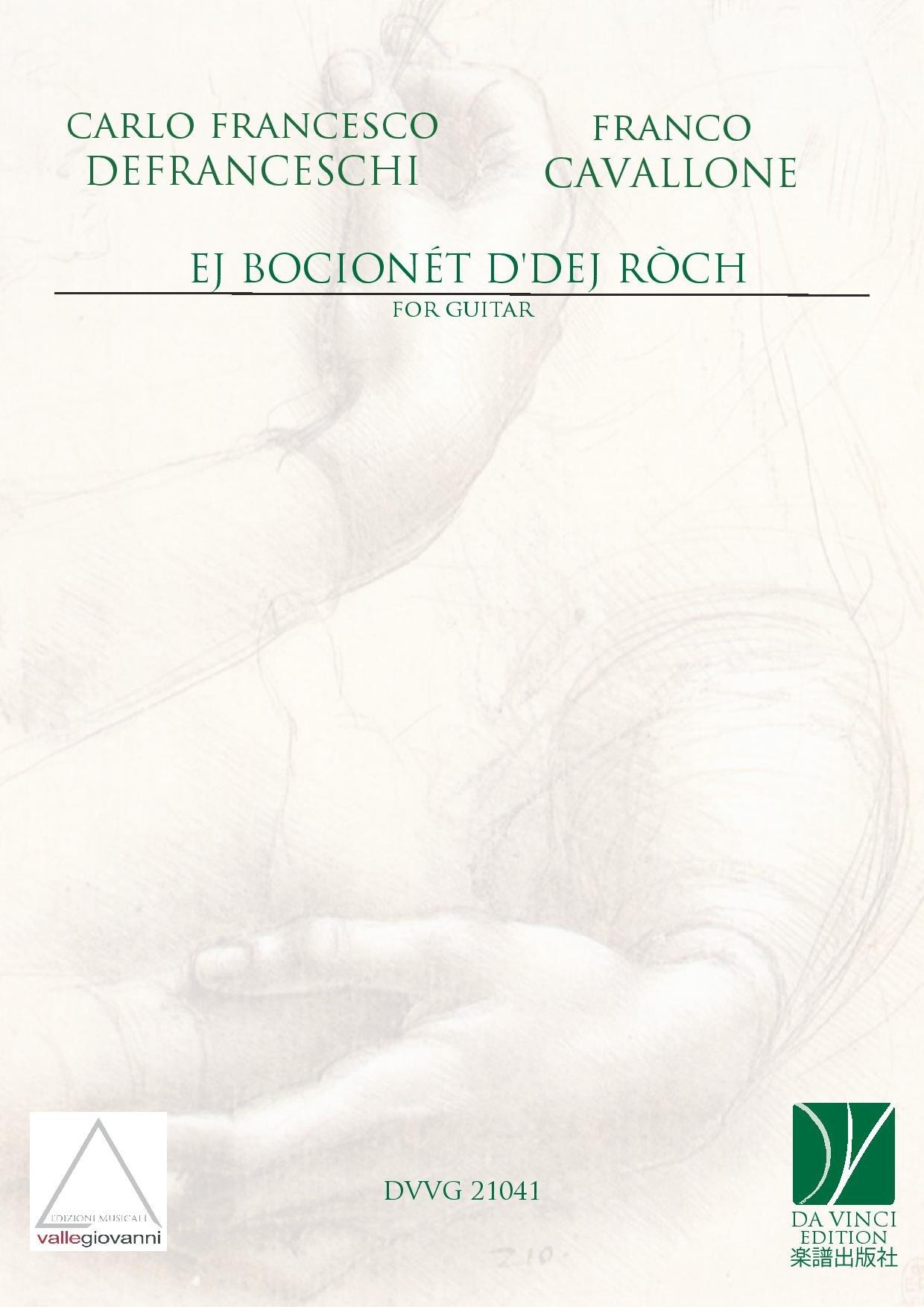 Ej bocionèt d'dej ròch -omaggio ad Angelo Gilardino