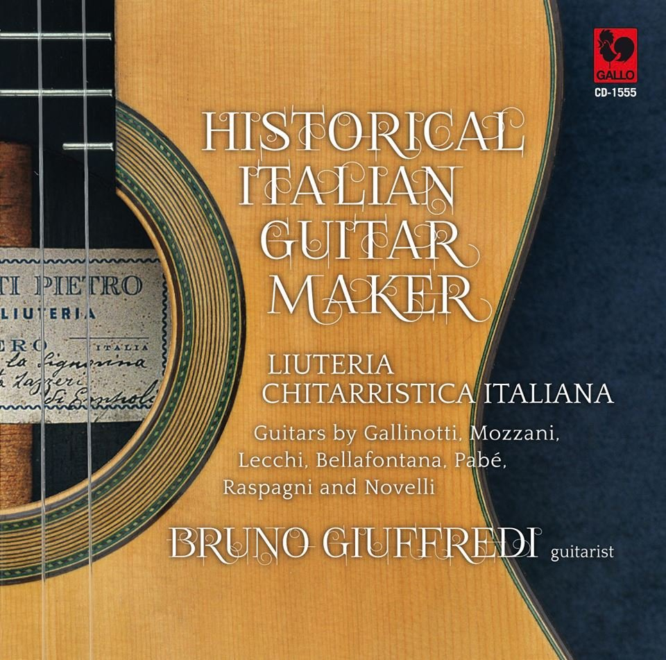 Bruno Giuffredi plays Historical Italian guitar-maker