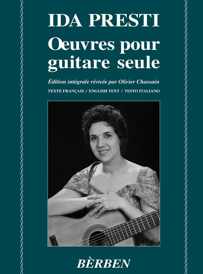 Ida Presti - Oeuvres pour Guitare Seule