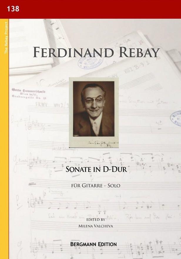 Ferdinand Rebay, Sonate in D-Dur für Gitarre