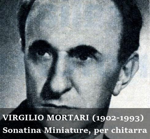 La Sonatina Miniature di Virgilio Mortari