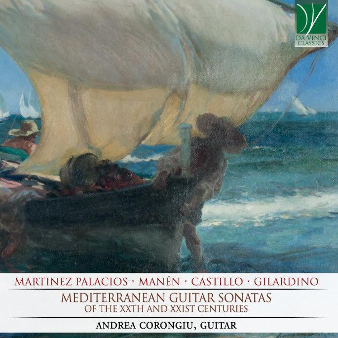 Mediterranean Guitar Sonatas, Andrea Corongiu