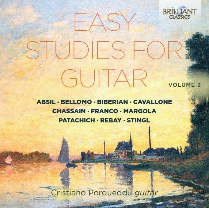 Easy Studies for Guitar Vol.3