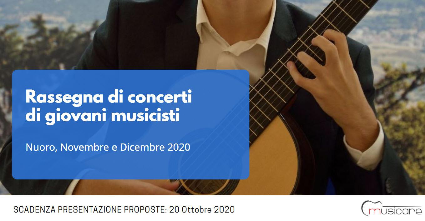 Candidature per la Rassegna di Giovani Musicisti di Musicare