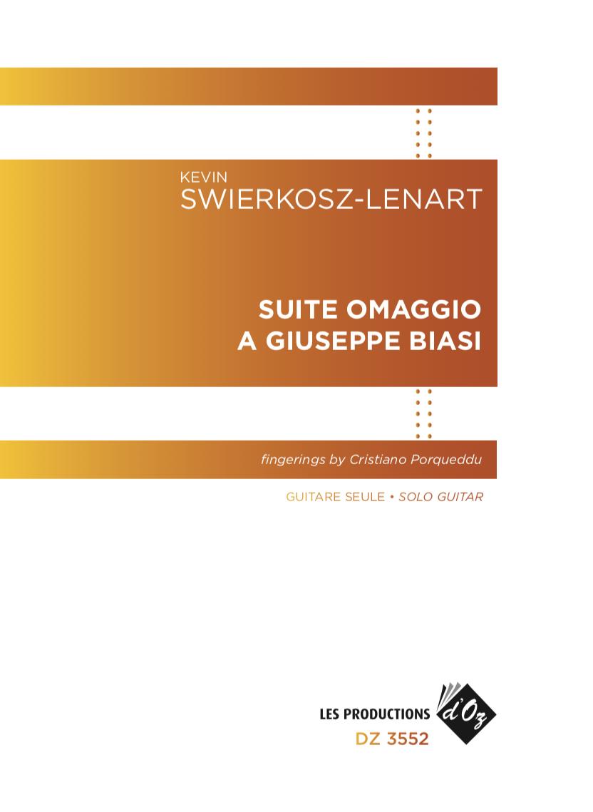 Suite per Chitarra Omaggio a Giuseppe Biasi
