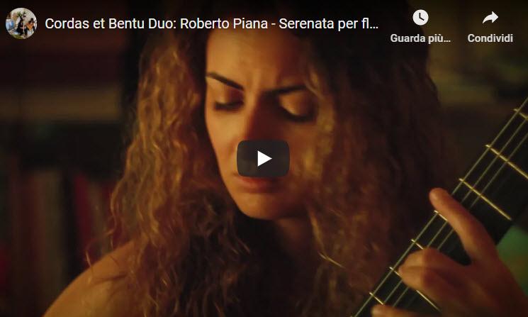 Roberto Piana - Serenata per flauto e chitarra