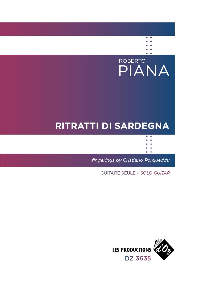 Ritratti di Sardegna, Roberto Piana