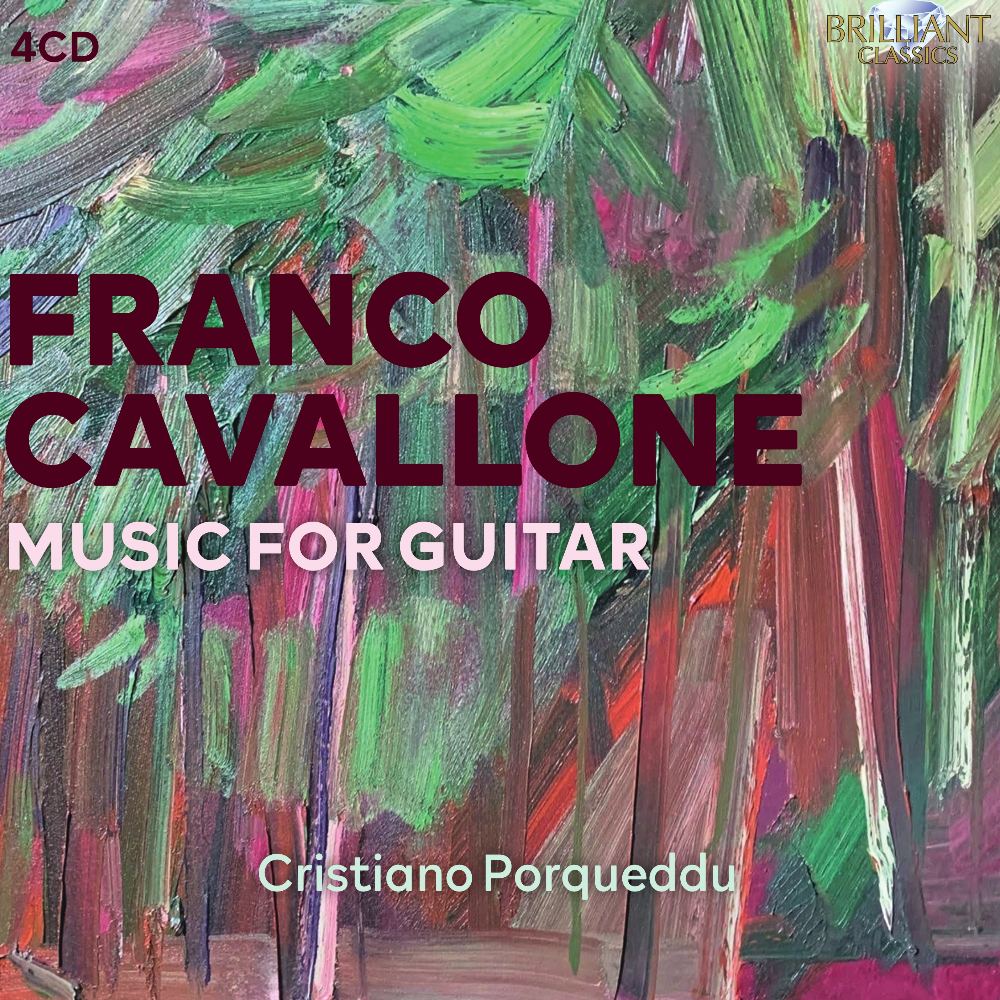 Franco Cavallone Music for Guitar
