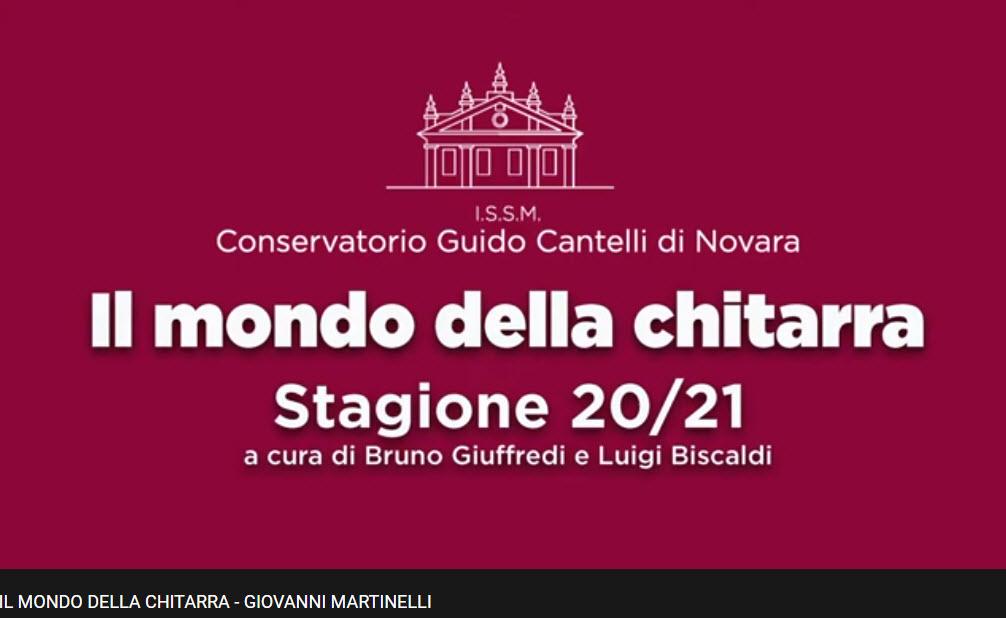 Giovanni Martinelli interpreta  musiche di Dadone, Ghiglione, Gilardino, Mosso