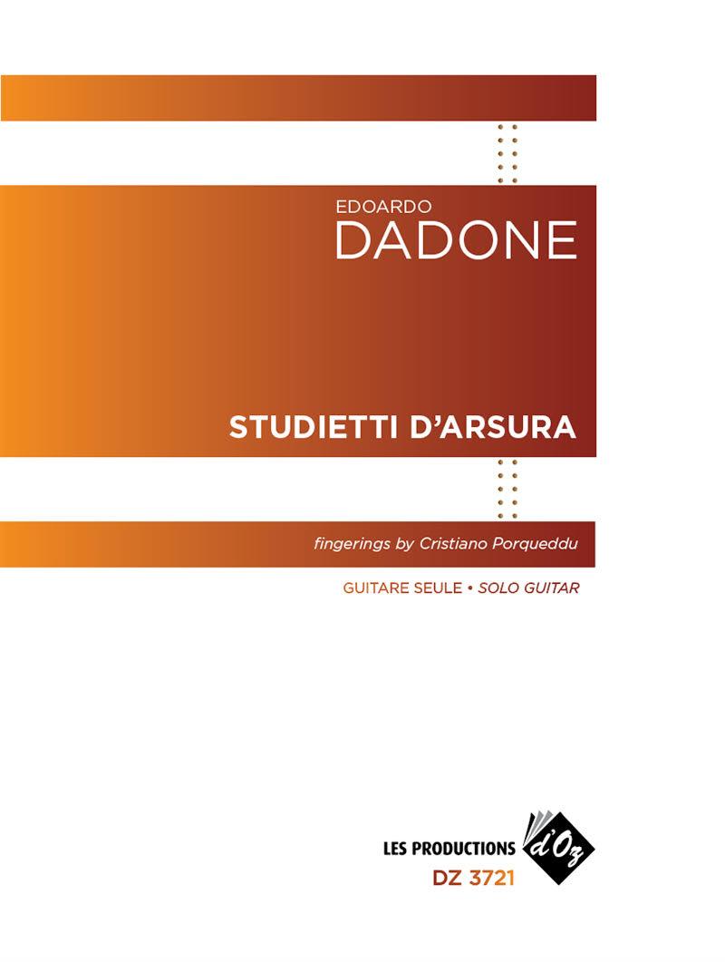 Studietti d'Arsura, Edoardo Dadone